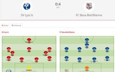 SV Lyss Bb – FC Besa